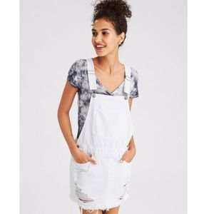 NWOT American Eagle Outfitters Ripped Overalls